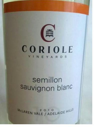 可利赛美蓉-长相思混酿干白Coriole Semillon - Sauvignon Blanc