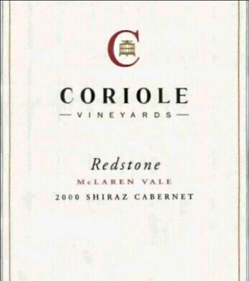 可利红石系列西拉-赤霞珠混酿干红Coriole Redstone Shiraz - Cabernet Sauvignon