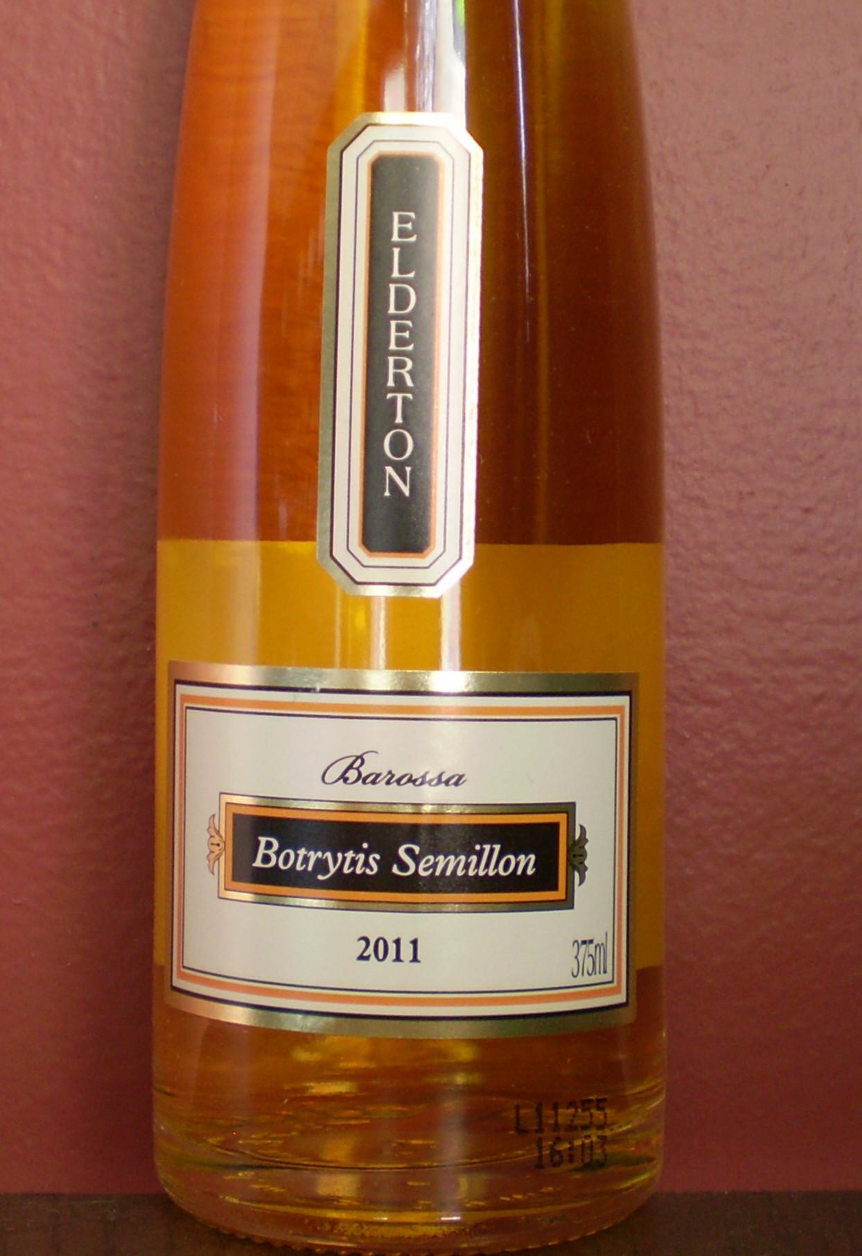 德顿酒庄赛美蓉贵腐甜白Elderton Botrytis Semillon