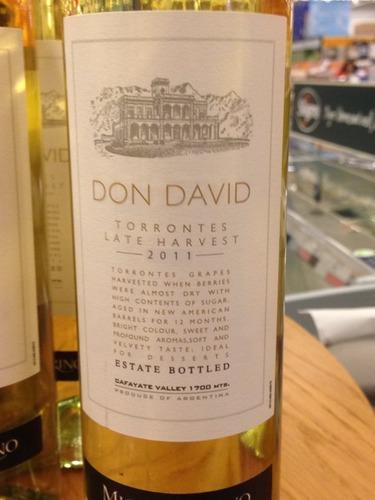 艾斯德科唐大卫晚收特浓情干白El Esteco Don David Torrontes Late Harvest