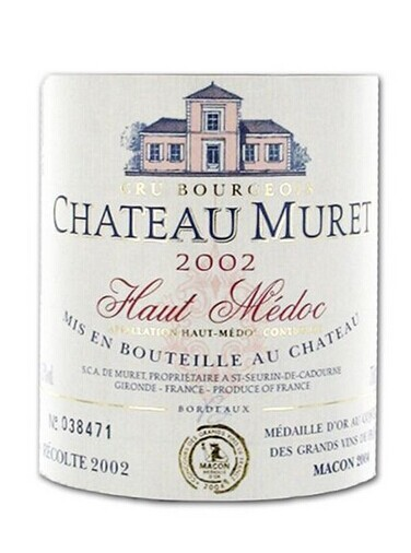 穆莱酒庄干红Chateau Muret