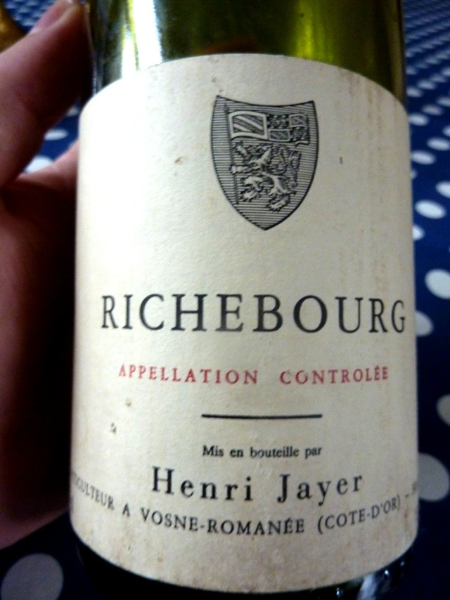 亨利·贾伊李其堡园干红Henri Jayer Richebourg Grand Cru
