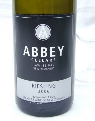 修道院半干雷司令干白Abbey Cellars Riesling