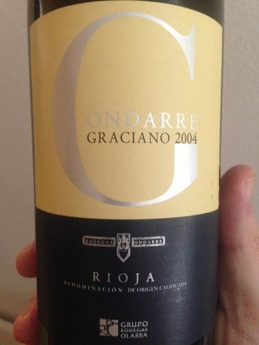 翁达柯雷酒庄格拉西亚诺干红Grupo Olarra Bodegas Ondarre Graciano