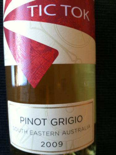 罗伯特奥特雷滴答系列灰皮诺干白Robert Oatley Vineyards James Oatley Tic Tok Pinot Grigio