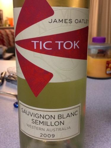 罗伯特奥特雷滴答系列长相思-赛美蓉混酿干白Robert Oatley Vineyards James Oatley Tic Tok Sauvignon Blanc - Semillon