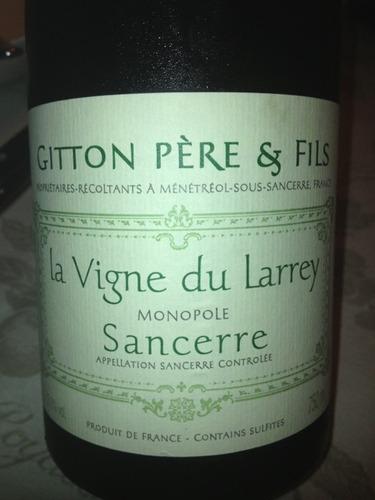 Gitton Pere & Fils Sancerre La Vigne du Larrey