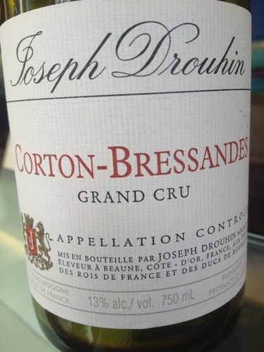 约瑟夫杜鲁安科尔登-布雷萨德园干红Joseph Drouhin Corton Grand cru Bressandes