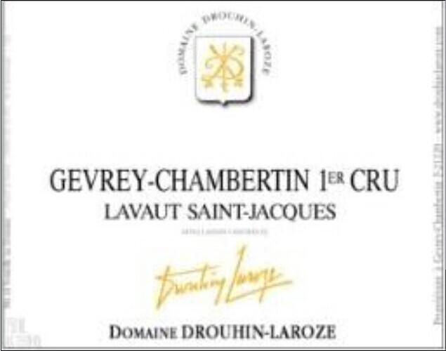 拉厚泽拉沃-圣-雅克园干红Domaine Drouhin-Laroze Lavaut-Saint-Jacques