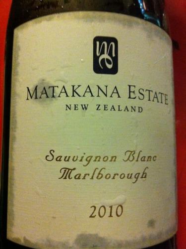 马塔卡纳酒庄长相思干白Matakana Estate Sauvignon Blanc