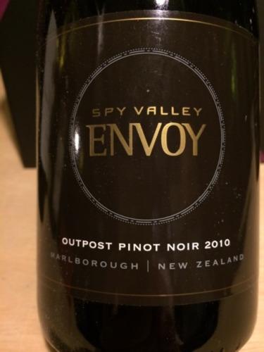 谍谷信差黑皮诺干红Spy Valley Envoy Pinot Noir