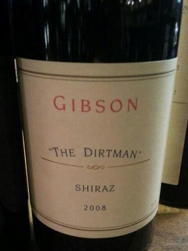吉布森多特曼西拉干红Gibson The Dirtman Shiraz