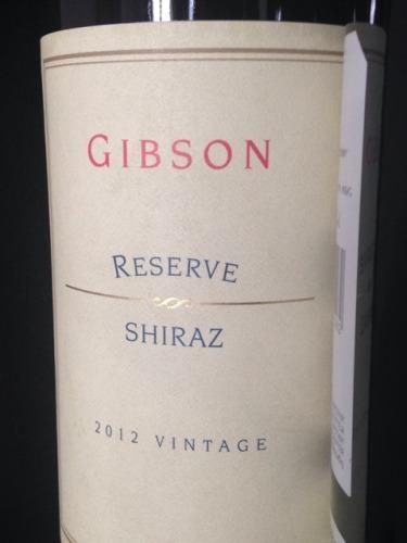 吉布森珍藏西拉干红Gibson Reserve Shiraz