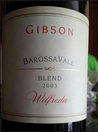 吉布森威普拉达混酿干红Gibson Barossavale Blend Wilfreda