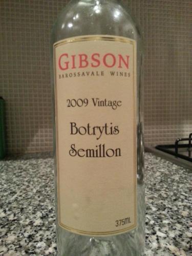 吉布森赛美蓉贵腐甜白Gibson Barossavale Botrytis Semillon