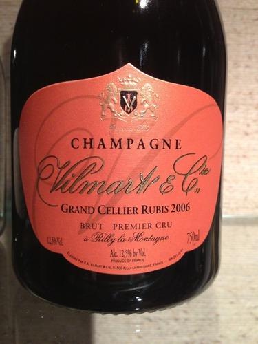 威尔马特塞利耶露比桃红香槟Vilmart Grand Cellier Rubis Brut Rose
