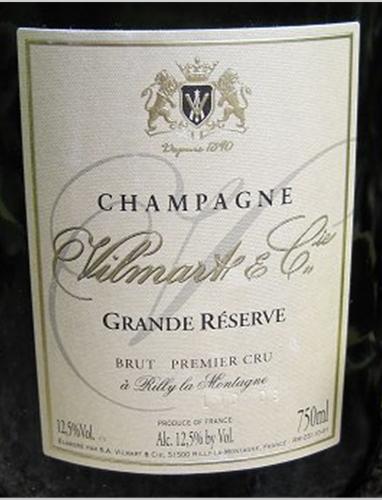 威尔马特特级珍藏香槟Vilmart Grande Reserve Premier Cru Brut
