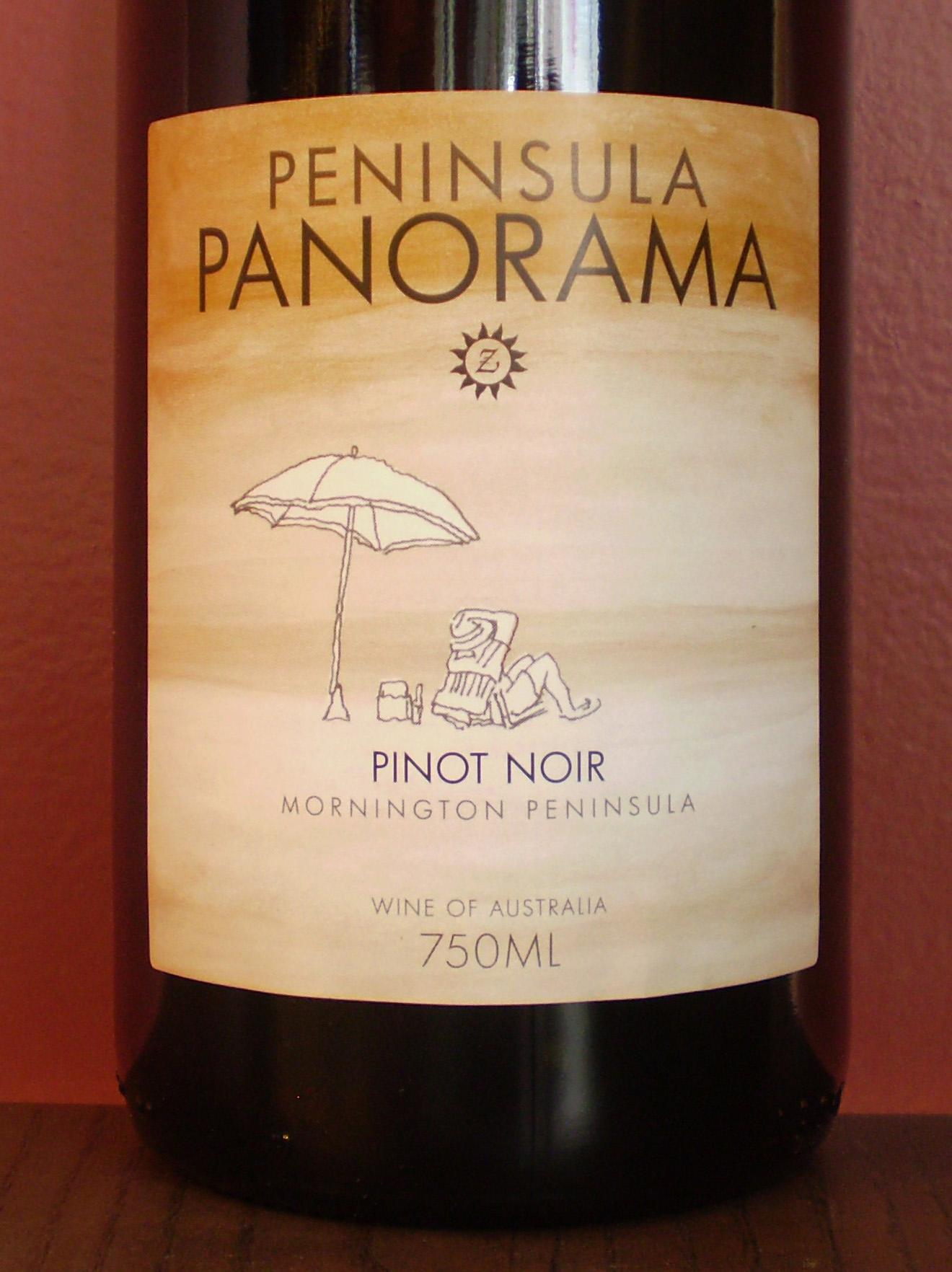 斯当皮半岛黑皮诺干红Stumpy Gully Wines Peninsula Panorama Pinot Noir