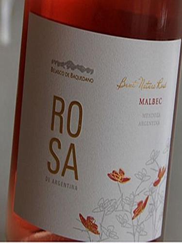 贝氏家族蔷薇系列自然低糖桃红起泡酒Belasco de Baquedano Rosa Brut Nature Mendoza