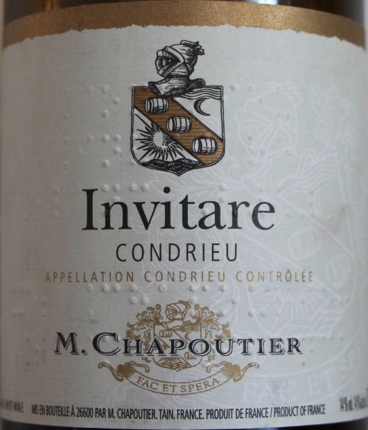 """莎普蒂尔""""邀约""""干白M. Chapoutier Invitare"""