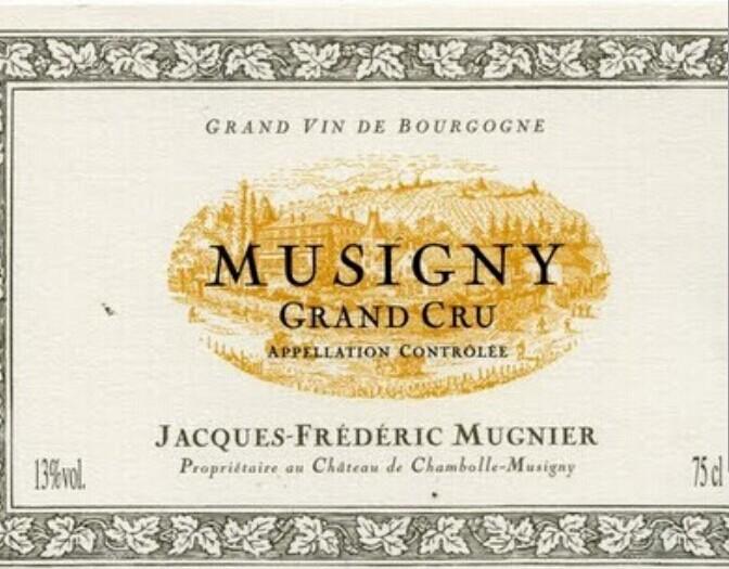 木尼艾慕西尼园干红Domaine Jacques-Frederic Mugnier Musigny