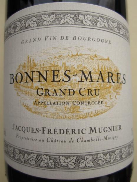 木尼艾邦马尔园干红Domaine Jacques-Frederic Mugnier Bonnes-Mares