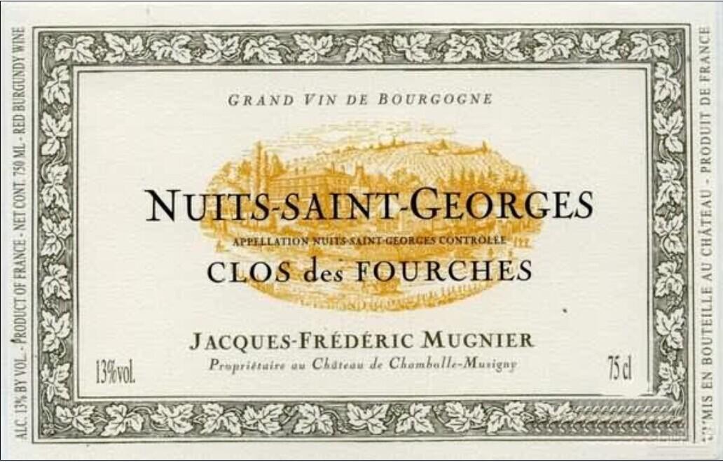 木尼艾福尔奇园干红Domaine Jacques-Frederic Mugnier Clos des Fourches