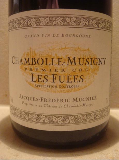 木尼艾弗逸园干红Domaine Jacques-Frederic Mugnier Les Fuees