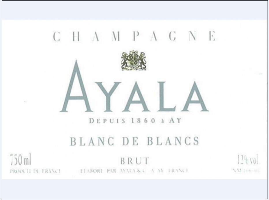 阿雅拉白中白香槟Champagne Ayala Blanc de Blancs