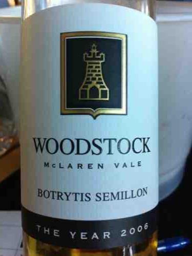伍德斯托贵腐赛美容白Woodstock Botrytis Semillon