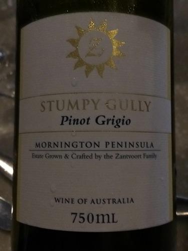 斯当皮灰皮诺干白Stumpy Gully Wines Pinot Grigio