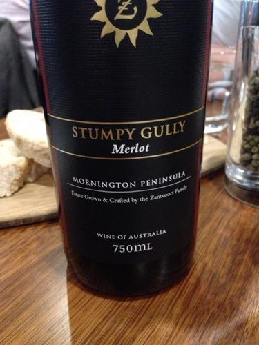 斯当皮梅洛干红Stumpy Gully Wines Merlot
