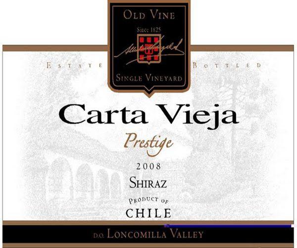 卡塔维嘉高级隆康为拉谷西拉干红Carta Vieja Prestige Loncomilla Valley Shiraz