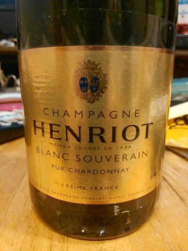 汉诺帝王霞多丽香槟Champagne Henriot Blanc Souverain Pur Chardonnay