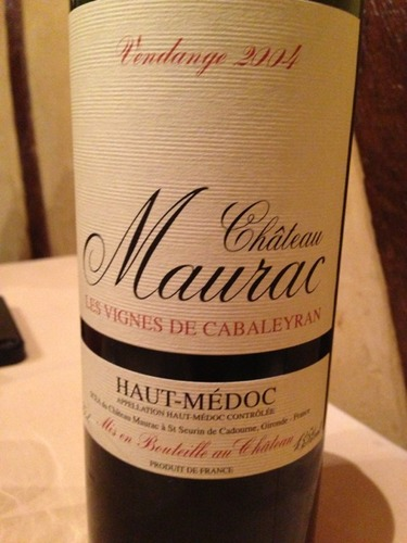 莫哈老树干红Chateau Maurac Les Vignes de Cabaleyran