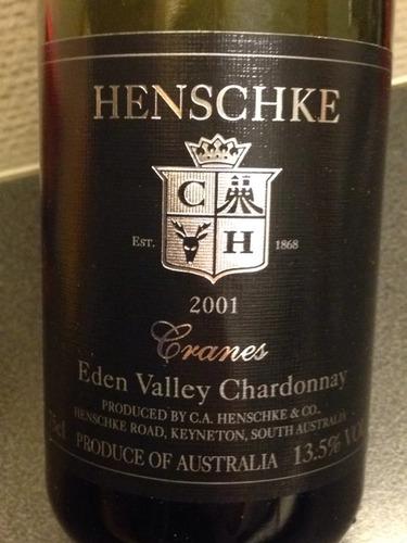 翰斯科克兰霞多丽干白Henschke Cranes Chardonnay