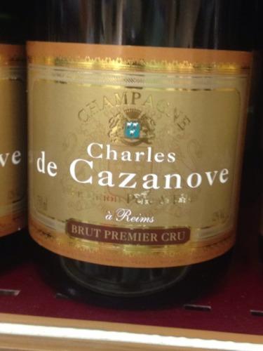凯萨王经典特级干型香槟Champagne Charles de Cazanove Tradition Pere & Fils Premier Cru
