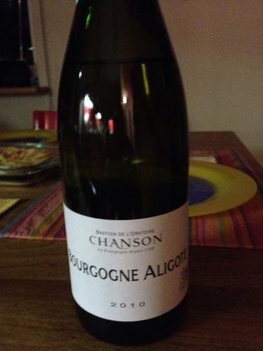 香颂勃艮第阿里高特干白Chanson Pere & Fils Bourgogne Aligote
