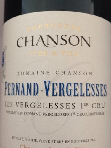 香颂佩尔南-韦热莱斯黑皮诺干红Chanson Pere & Fils Pernand Vergelesses Pinot Noir