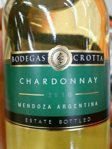 克罗塔霞多丽干白Bodegas Crotta Chardonnay