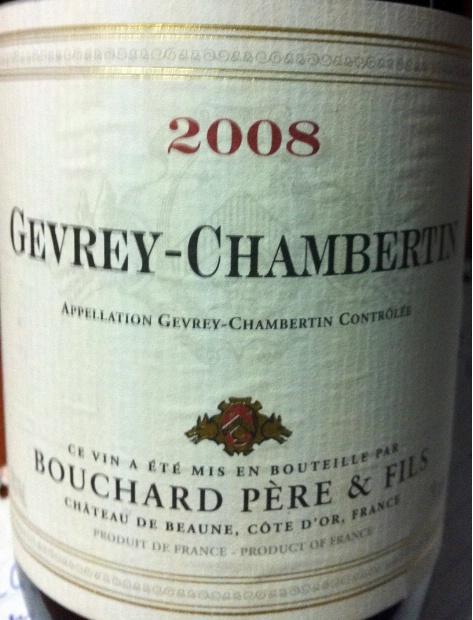 宝尚父子热夫雷-香贝丹干红Bouchard Pere & Fils Gevrey-Chambertin