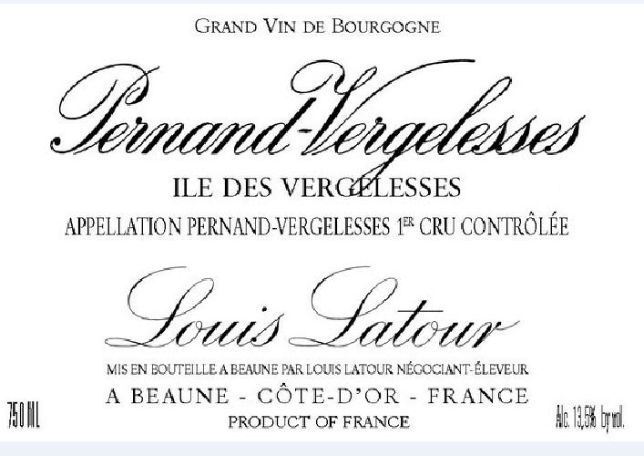 路易拉图韦热莱斯园干红Louis Latour Ile des Vergelesses