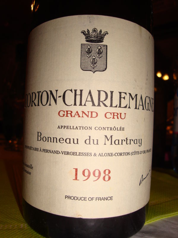 马特莱科尔登干红Domaine Bonneau du Martray Corton Grand Cru