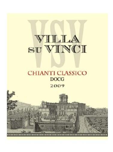 萨瓦芬奇园经典基安蒂干红Salvadori Villa Su Vinci Chianti Classico