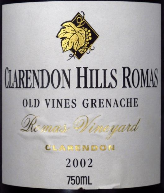 克拉伦敦山克拉伦敦园老藤歌海娜干红Clarendon Hills Clarendon Vineyard Old Vine Grenache