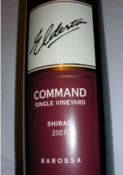德顿统帅西拉干红Elderton Command Single Vineyard Shiraz
