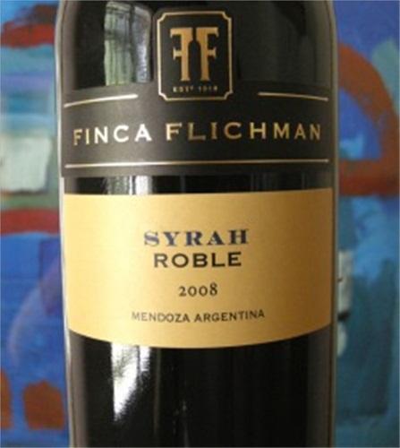 菲卡尊酿橡木系列西拉干红Finca Flichman Roble-Oak Aged Syrah
