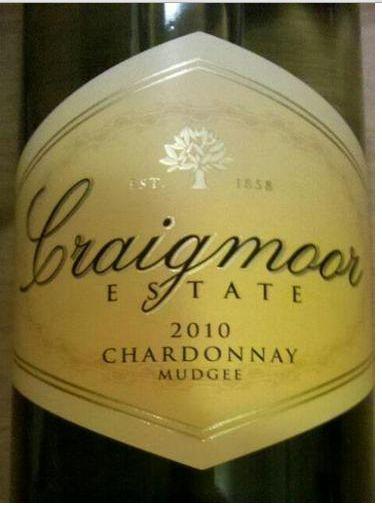 罗伯特奥特雷克莱摩尔系列霞多丽干白Robert Oatley Vineyards Craigmoor Chardonnay