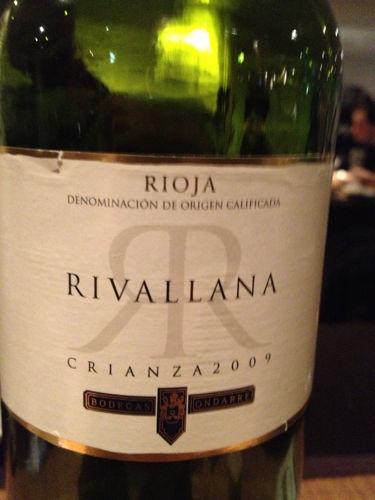 Bodegas Ondarre Rioja Rivallana White Crianza