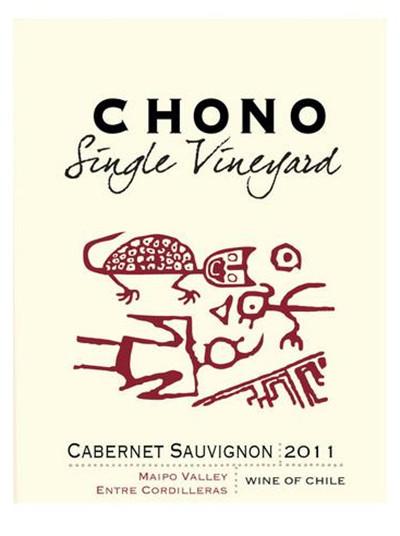 丛诺唯一庄园系列赤霞珠干红Chono Single Vineyard Cabernet Sauvignon